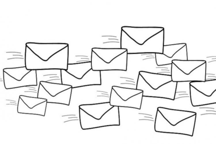 Disegno di buste delle lettere