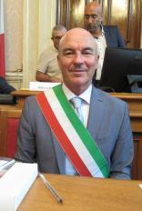 Foto del sindaco Luca Salvetti