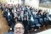 Selfie all'incontro