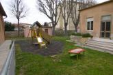 Giardino interno del Centro infanzia Mondolfi